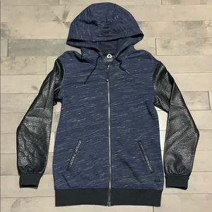 Titika Active Couture Biker Hoodie Jacket - Small